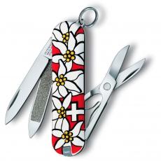 0.6203.840 Нож-брелок CLASSIC Edelweiss, 58 мм, эдельвейс