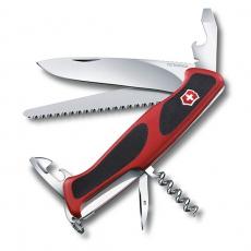 0.9563.C Швейцарский нож Victorinox RangerGrip 55 состоит из 12 функций