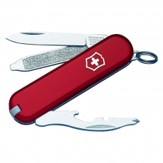0.6163 Нож-брелок Victorinox Rally, 58мм, красный