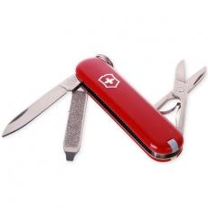 0.6223 Нож брелок CLASSIC, 58 мм, красный