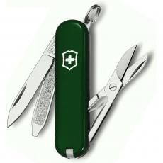 0.6223.4 Нож-брелок Classic 58 мм. зеленый