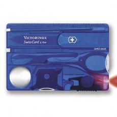 0.7322.T2 Швейцарская карта SwissCard Lite, полупрозр. синий