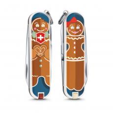 0.6223.L1909 Нож-брелок Victorinox Classic LE2019 Gingerbread Love
